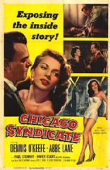 Chicago Syndicate 1955 DVD - Dennis O'Keefe / Abbe Lane